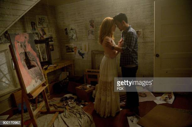 Guest star Alicia Witt and John Cho in the 'Darling Nikki' episode of THE EXORCIST airing Friday Nov 10 on FOX