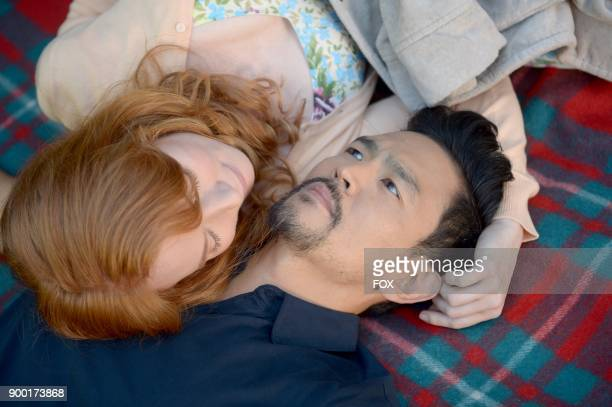 Guest star Alicia Witt and John Cho in the 'Help Me' episode of THE EXORCIST airing Friday Nov 17 on FOX