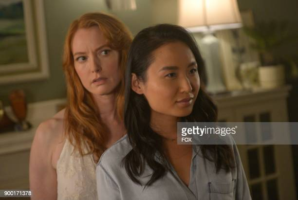 Guest star Alicia Witt and Li Jun Li in the 'Darling Nikki' episode of THE EXORCIST airing Friday Nov 10 on FOX