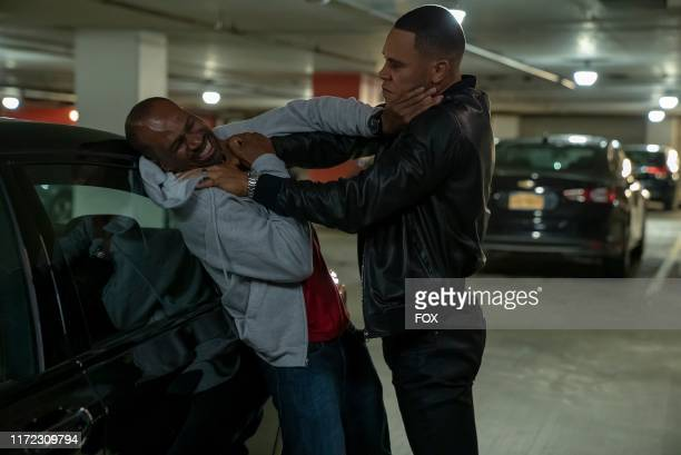 Guest star Anthony Irons and Trai Byers in the What Is Love season premiere episode of EMPIRE airing Tuesday Sept 24 on FOX