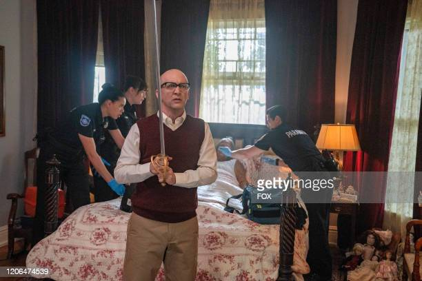 Guest star Brianna Baker Liv Tyler guest star JP Manoux and guest star Mark Elias in the Monster Inside episode of 911 LONE STAR airing Monday March...