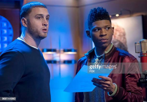 Guest star Chester Marlon Hanks and Bryshere Gray in the A Lean Hungry Look episode of EMPIRE airing Wednesday May 2 on FOX