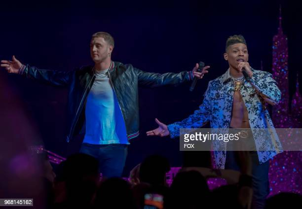 Guest star Chet Hanks and Bryshere Gray in the Bloody Noses Crack'd Crowns episode of EMPIRE airing Wednesday May 16 on FOX