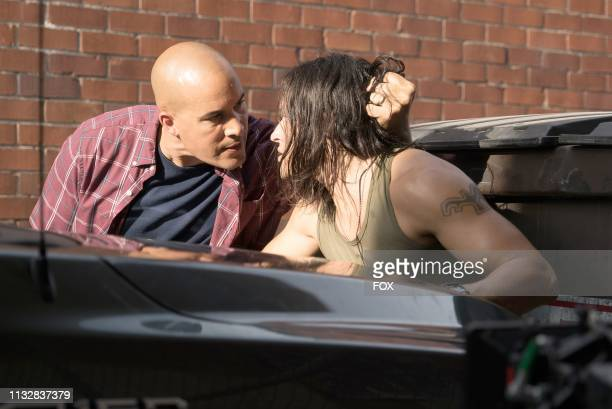Guest star Coby Bell and Blair Redford in the gaMe changer fall finale episode of THE GIFTED airing Tuesday Dec 4 on FOX