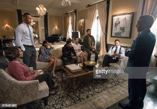 Guest star Leslie Uggams Trai Byers Taraji P Henson Bryshere Gray Grace Byers Jussie Smollett Terrence Howard and guest star Andre Royo in the Absent...