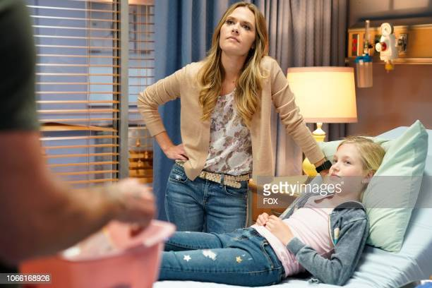Guest star Maggie Lawson and guest star Shay Rudolph in the A Whole Lotto Trouble episode of LETHAL WEAPON airing Tuesday Oct 9 on FOX