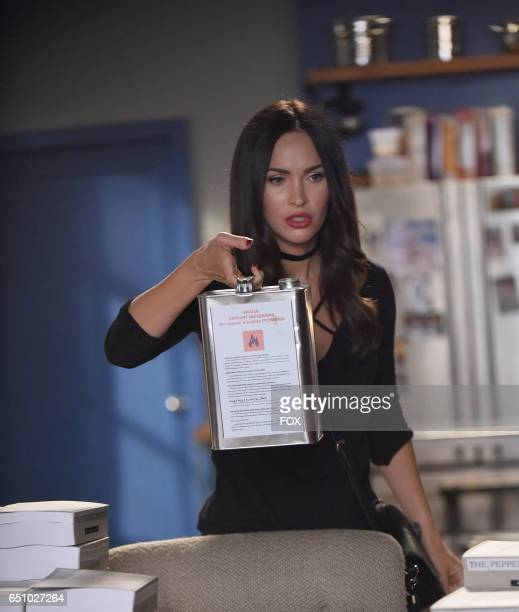 Guest star Megan Fox in the 'Glue' episode of NEW GIRL airing Tuesday Feb 7 on FOX