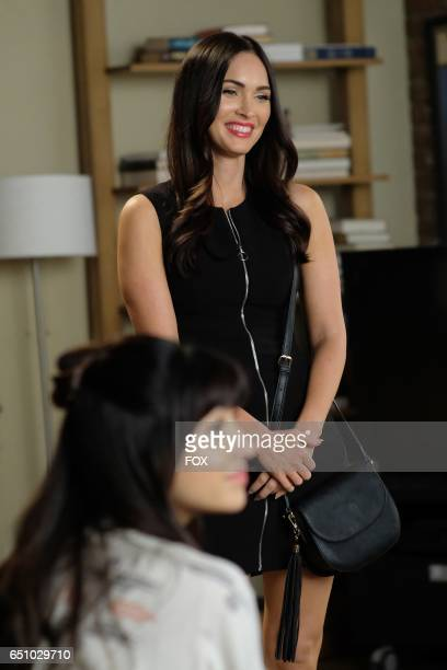 Guest star Megan Fox in the 'Misery' episode of NEW GIRL airing Tuesday March 21 on FOX