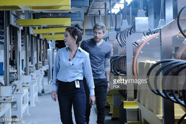 Guest star Moira Kelly and Matt Czuchry in the From the Ashes season premiere episode of THE RESIDENT airing Tuesday Sept 24 on FOX