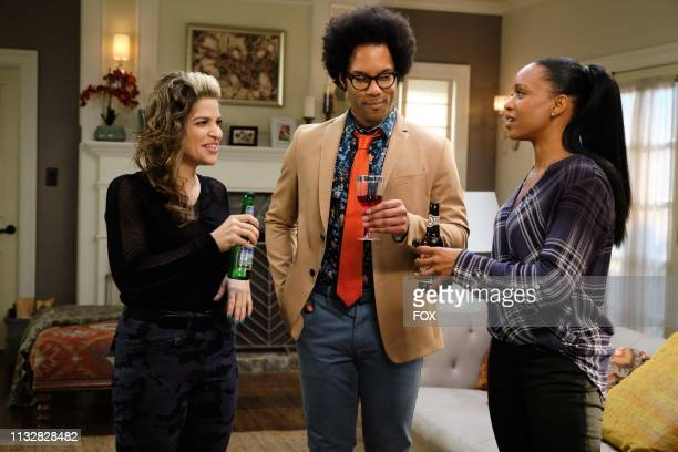 Guest star Paola Lazaro Johnathan Fernandez and Michelle Mitchenor in the The Spy Who Loved Me season finale episode of LETHAL WEAPON airing Tuesday...