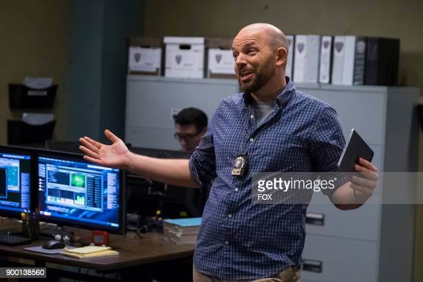 Guest star Paul Scheer in the Game Night Godfather special one hour episode of BROOKLYN NINENINE airing Tuesday Dec 12 on FOX
