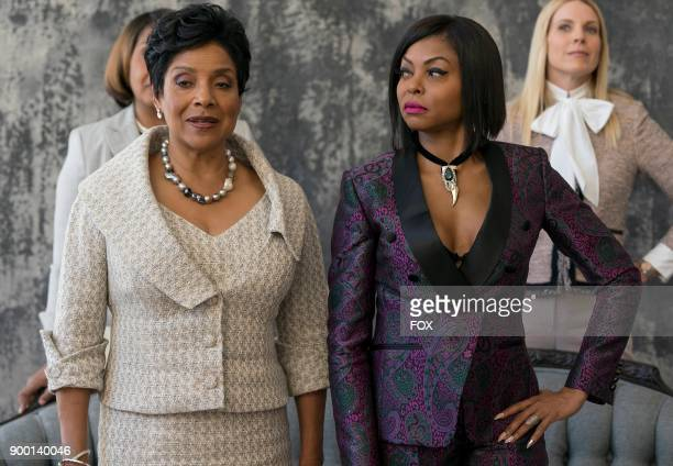 """Guest star Phylicia Rashad and Taraji P. Henson in the """"Evil Manners"""" episode of EMPIRE airing Wednesday, Oct. 11 on FOX."""