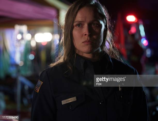 Guest star Ronda Rousey in the Searchers episode of 9-1-1 airing Monday, Oct. 7 on FOX.