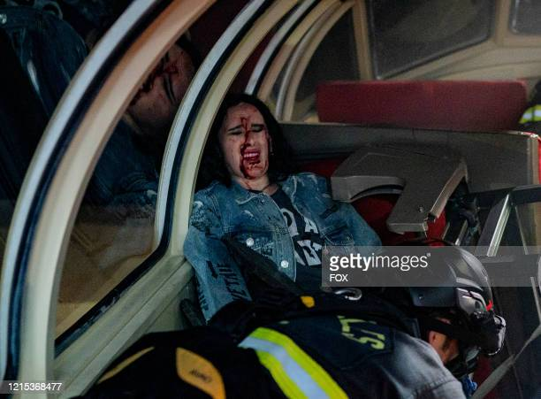 Guest star Rumer Willis in the What's Next season finale episode of 911 airing Monday May 11 on FOX