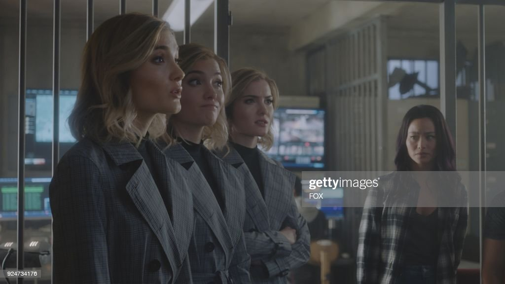 Guest star Skyler Samuels (L) and Jamie Chung in the first part of the eXtraction/X-roads two-hour season finale of THE GIFTED airing Monday, Jan. 15 (8:00-10:00 PM ET/PT) on FOX.