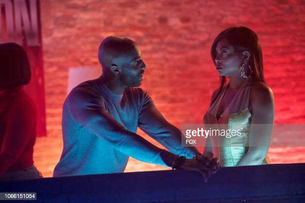 Guest star Toby Onwumere and Taraji P Henson in the The Depth of Grief episode of EMPIRE airing Wednesday Oct 31 on FOX