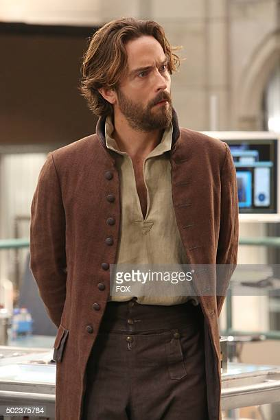 Guest star Tom Mison in the special 'The Resurrection in the Remains' BONES/SLEEPY HOLLOW crossover episode of BONES airing Thursday Oct 29 on FOX