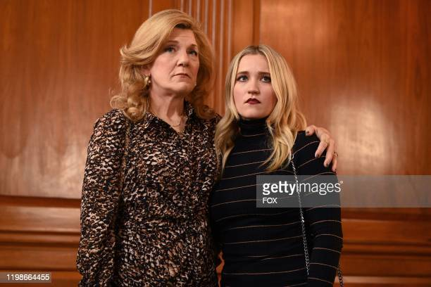 Guest star Victoria Clark and Emily Osment in the Expectant AF season finale episode of ALMOST FAMILY airing Wednesday Jan 29 on FOX