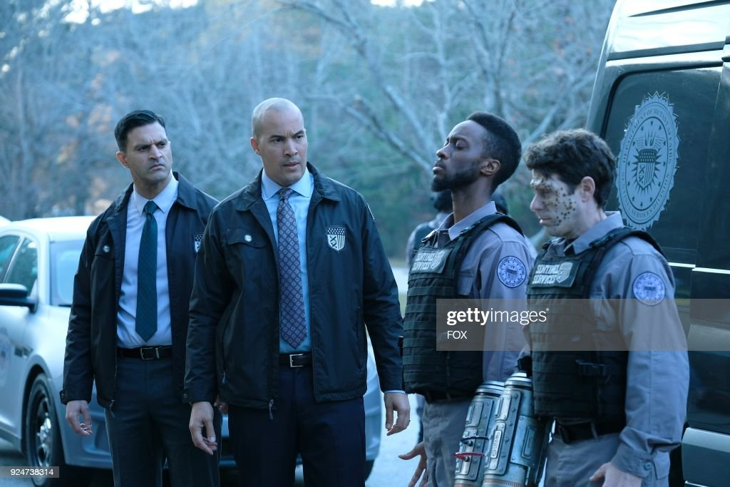 Guest star Vishesh Chachra, Coby Bell, guest star Elliott Dixon and guest star David She in the second part of the eXtraction/X-roads two-hour season finale of THE GIFTED airing Monday, Jan. 15 (8:00-10:00 PM ET/PT) on FOX.