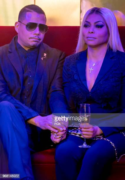 Guest star XXX Terrence Howard and Taraji P Henson in the 'FAIR TERMS' episode of EMPIRE airing Wednesday May 9 on FOX