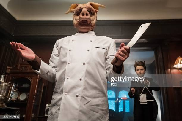 Guest stars Michael Cerveris and Christopher Convery in the A Dark Knight Let Them Eat Pie episode of GOTHAM airing Thursday Nov 16 on FOX