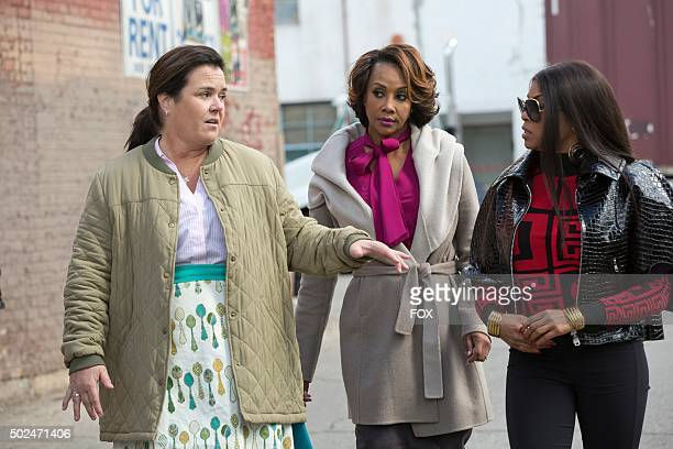 Guest stars Rosie O'Donnell and Vivica A Fox with series star Taraji P Henson in the Sinned Against episode of EMPIRE airing Wednesday Nov 25 on FOX