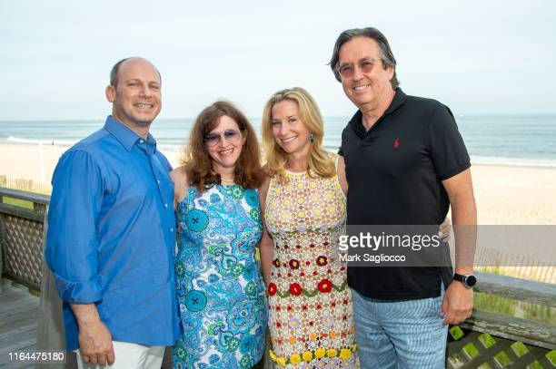 Guest Sue Moss Nancy Chemtob and Michael Kubin attend the David Lynch Foundation 15th Anniversary at the Bridgehampton Tennis and Surf Club on July...