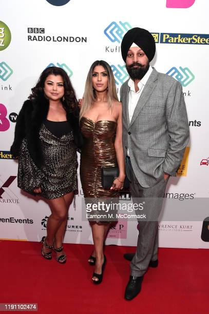 Guest Tasha Tah and Tony Shergill attend the Brit Asia TV Music Awards 2019 at SSE Arena Wembley on November 30 2019 in London England