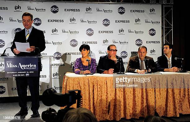 Guest television personality Kris Jenner Executive producer of The Bachelor Mike Fleiss Television personality Raul de Molina and television...