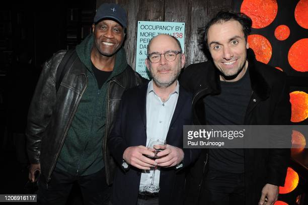 Guest Todd Barry and Michael Angelo Covino attend Sony Pictures Classics And The Cinema Society Host A Special Screening Of The Climb at iPic Theater...