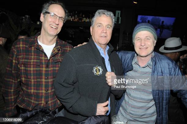 Guest Tom Bernard and Andy Bernard attend Sony Pictures Classics And The Cinema Society Host A Special Screening Of The Climb at iPic Theater on...