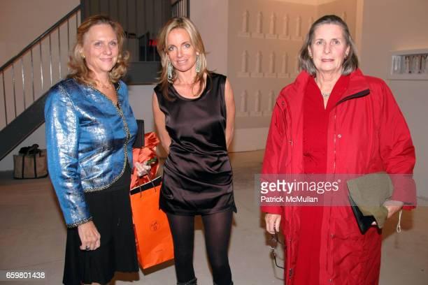 guest Vandermije Rachel Hovnanian and Eleanor Dick attend RACHEL HOVNANIAN opening reception POWER BURDEN OF BEAUTY at Jason McCoy Gallery on...