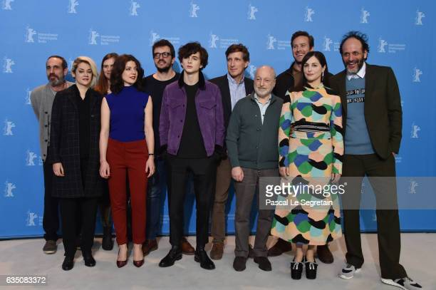 Guest Victoire du Bois guest Esther Garrel producer Rodrigo Teixeira Timothee Chalamet producer Peter Spears writer Andre Aciman actors Armie Hammer...