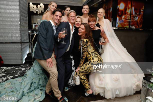 Guest Ward Simmons Ines Di Santo Jenna Naumovich Freda and Veronica Di Santo celebrate at the Baccarat Celebrates designer Ines Di Santo during New...