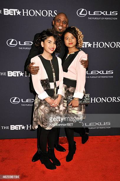 Guest Wayne Brady and Maile Masako Brady attend The BET Honors 2015 at Warner Theatre on January 24 2015 in Washington DC