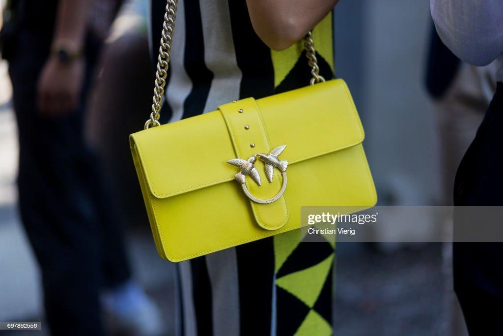 Street Style: June 19 - Milan Men's Fashion Week Spring/Summer 2018 : News Photo