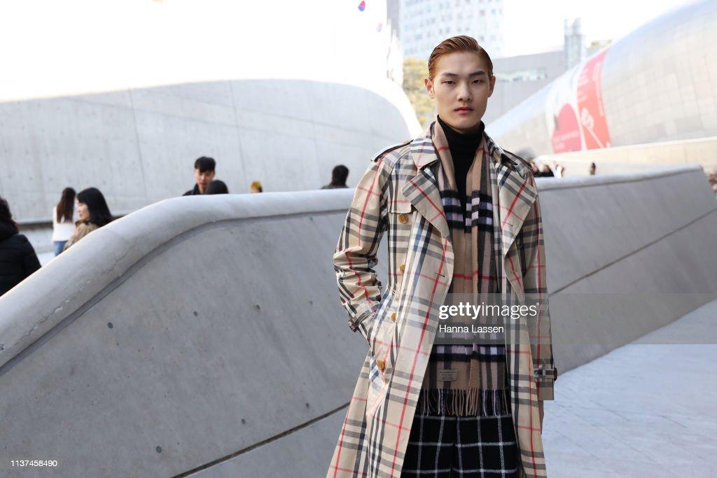 KOR: Street Style - Hera Seoul Fashion Week 2019 F/W - Day 3
