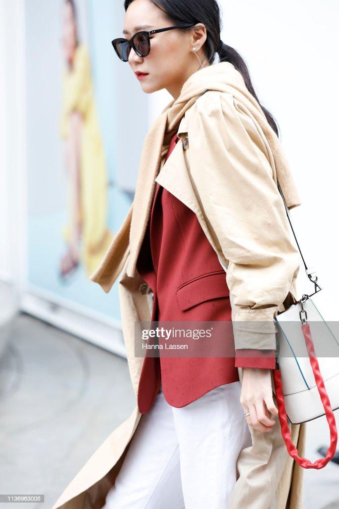 KOR: Street Style - Hera Seoul Fashion Week 2019 F/W - Day 1