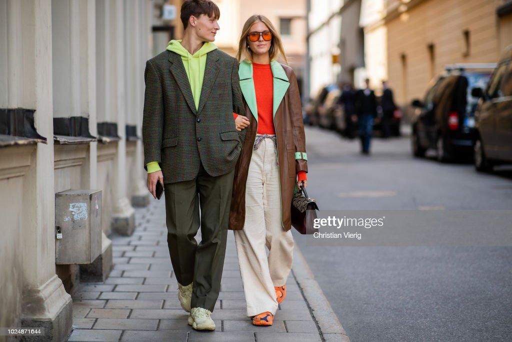 Day 1 - Street Style - Stockholm Runway SS19 : ニュース写真