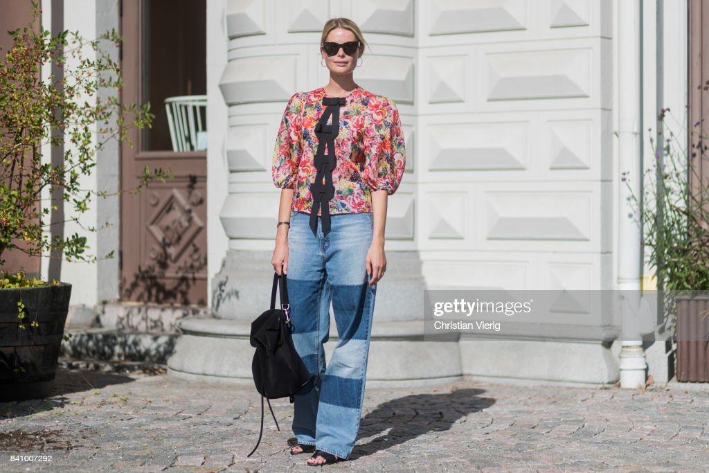 Street Style - Day 1 - Stockholm Fashion week Spring/ Summer 2018 : Fotografía de noticias