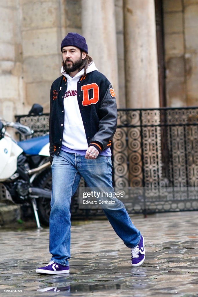 007940b543 Street Style -Paris Fashion Week - Menswear Fall Winter 2018-2019   Day Five