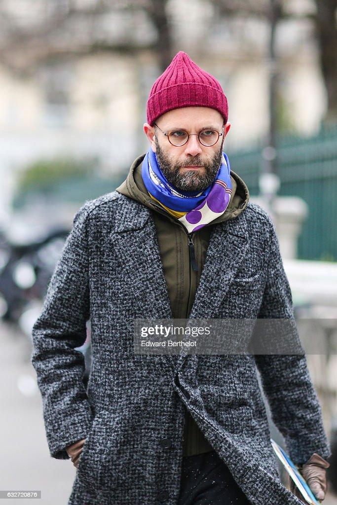 7c903e8ff8 Street Style   Day Four - Paris Fashion Week- Haute Couture Spring Summer  2017