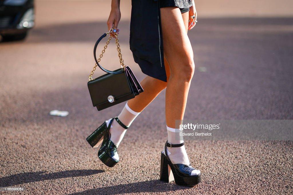 Street Style In Paris - June 2019 : Photo d'actualité