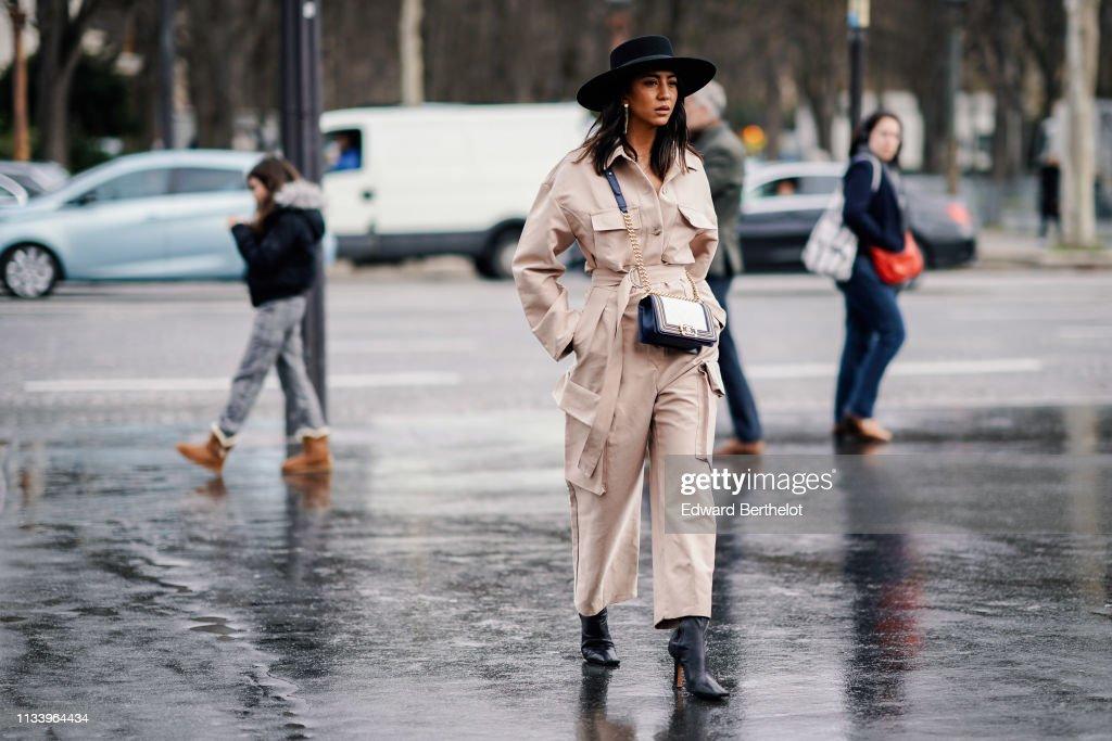 f51a2bd0 Street Style - Paris Fashion Week Womenswear Fall/Winter 2019/2020 : Day  Nine