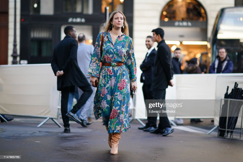 Street Style In Paris - May 2019 : Photo d'actualité