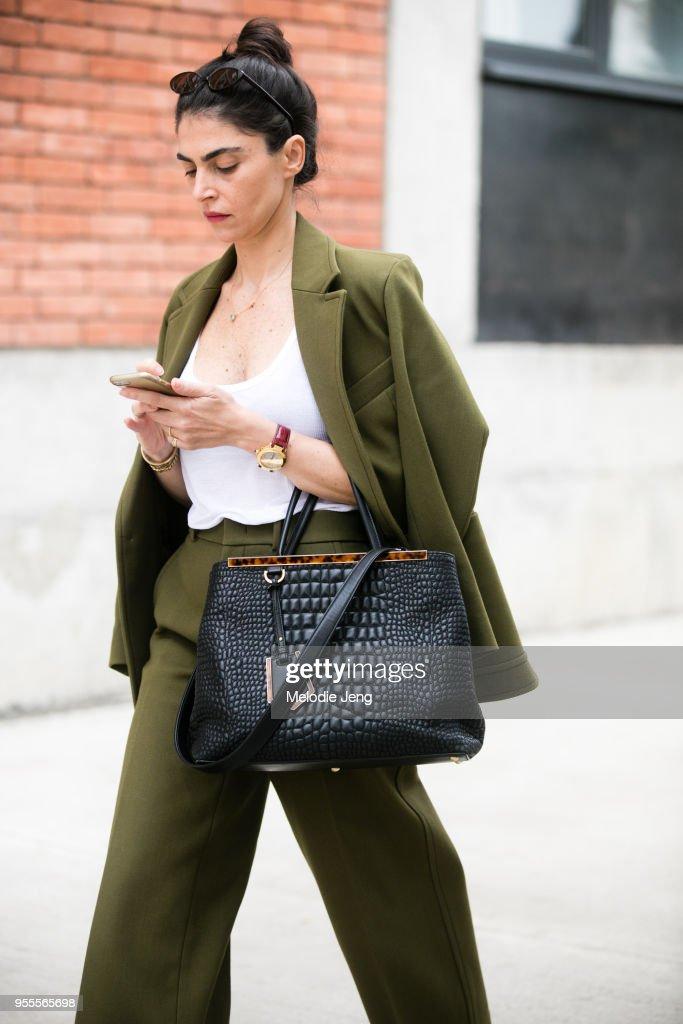 Mercedes-Benz Tbilisi Fashion Week -Fall/Winter 2018-2019 - Street Style : News Photo