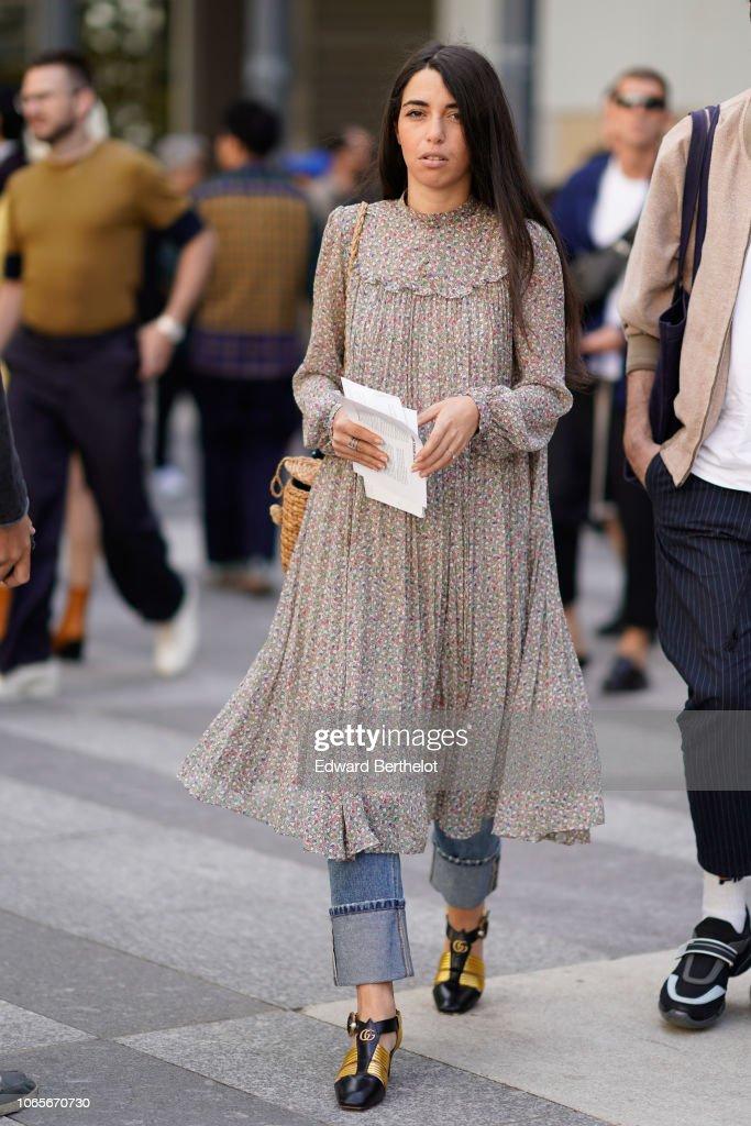 Street Style -Paris Fashion Week - Menswear Spring-Summer 2019 : Day Three : Photo d'actualité