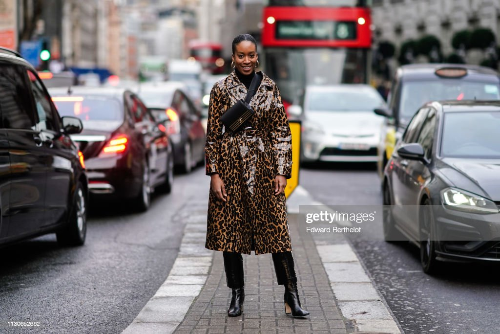Street Style - LFW February 2019 : Photo d'actualité