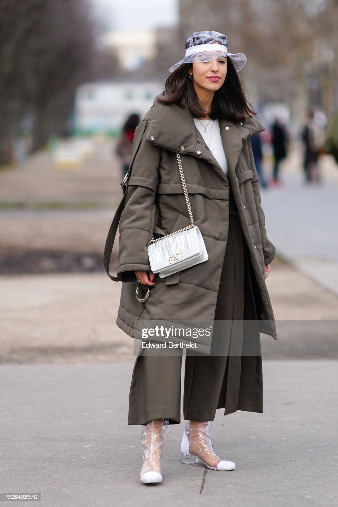 01a3718cbcf Street Style   Paris Fashion Week Womenswear Fall Winter 2018 2019   Day  Nine