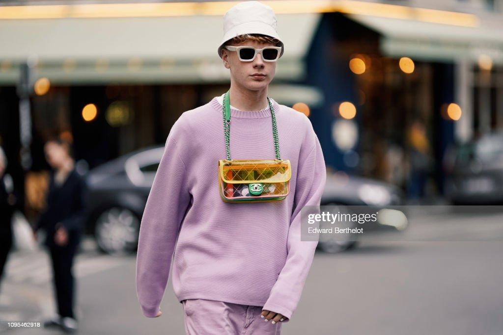 0f6c8ee34ea Street Style - Paris Fashion Week - Menswear F W 2019-2020   Day